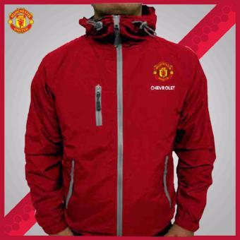 Jaket Pria Bola Tracker Manchester United
