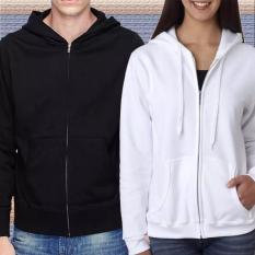 Jaket Sweater Hoodie Zipper & Jumper Polos Untuk Pria & Wanita