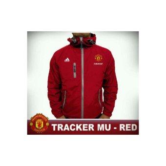 Jaket Tracker Waterproof Windbreaker MU / Manchester United