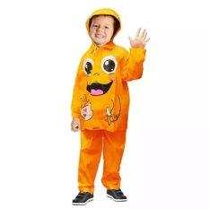 Jas Hujan Anak lucu Kido usia 3 s/d 7 tahun -Orange