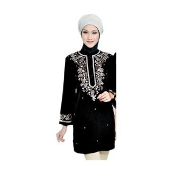 Java Seven Busana Muslim Wanita Farzana ALY 329 - Hitam