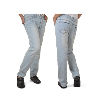 Java Seven Celana Jeans Wanita Celendine ALX 742 - Biru