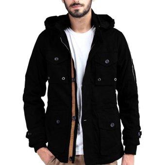 Jfashion Mens Hoodie Jacket With Zipper Novan Abu Tua Beli Harga Murah Source · Jfashion Men s Basic Parka Jacket Hitam