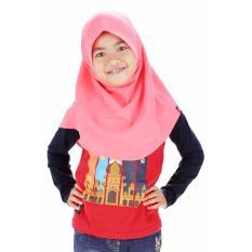 Jilbab Anak Aufa - Orange