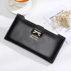 Jims Honey - Dompet Fashion Import - Ribbon Wallet (Black)