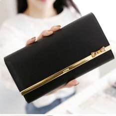 Jims Honey - Fashion Wallet - Dompet Import - Kqueenstar (Black)
