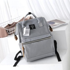 JL Gy_GR Women's New Fashion Convince Casual Backpacks (Grey) - intl