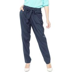 JO & NIC Bea Office Pants - Celana Kantor - Navy
