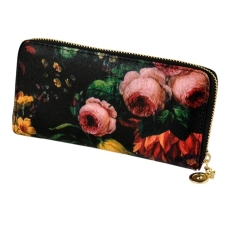 Jo.In New Korean Women Ladies Floral Print Wallet Clutch Bag Handbag
