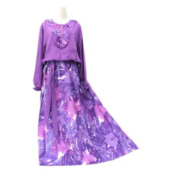 Kampung Souvenir - Gamis The Ocean - Purple