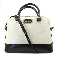 Kate Spade Small Rachelle Black White - Hitam Putih