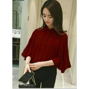 Kedai_Baju Blouse Wanita Dita / Blouse Cewek / Shirt Wanita /Blouse Korean Style / Blouse
