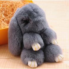 Boneka Mainan Gantungan Kunci Hiasan Liontin Source Kelinci Rex bulu kelinci tas tangan .