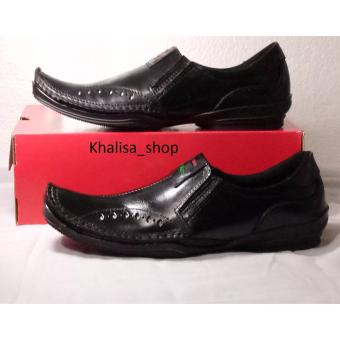 Harga Kickers Sepatu Pria Kulit Asli Model KR 027 Black - PriceNia.com 0699029d9e