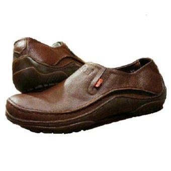 Kickers Sepatu Slip on Boots Pria Kulit Asli Model KC 073 CT - Kulit Jeruk
