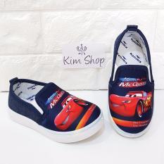 Kim Sepatu Anak Slip On Laki-laki CRS01 - Navy