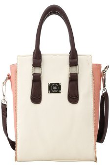 Kingor Women's / Ladies'Romantic Love Story Top-handle And Crossbody Handbag-light Pink