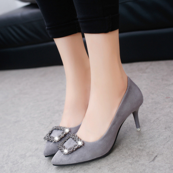 ... Korean style spring New style pointed thin heeled high heeled shoes women s shoes