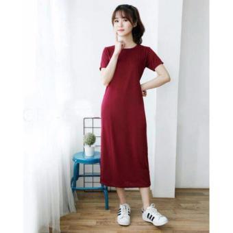 Labelledesign Dress Elny No.5 - Maroon