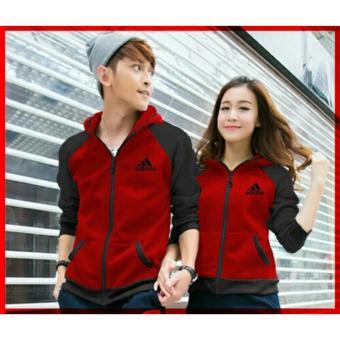 Kyoko Fashion Jaket Couple Red Stripe Black Info Update Harga Source Ladies Fashion .