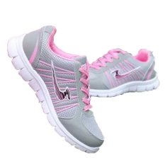 Ladies Sneakers Casual Soft Bottom Shoes (Pink) (Intl)
