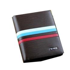 Leather Bifold Credit Card Money Holder Clutch Wallet Slim Purse Handbag Brownstyle1