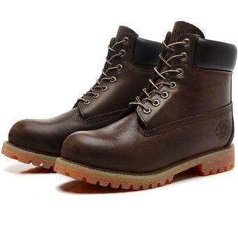 b2a47877a5 Leather Hiking Shoes For Timberland Boots 27061 Icon 6 Premium Men (Brown)  - intl