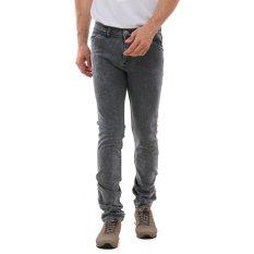 Lee Cooper Jeans Pria Slim Fit Light Grey Norris Artisan