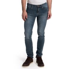 Lee Cooper Jeans Pria Slim Fit Mid Grey Lc 114