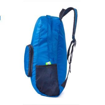 Leegoal Adapula Warna Murni Dan Sederhana Olahraga Outdoor Waterproof Hiking Ransel Tas Ransel .
