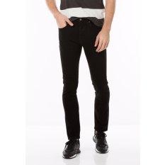 Levi's 501 Skinny Stretch Jeans - Black Punk
