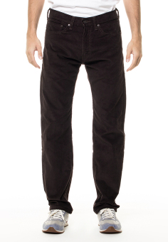 Levi's 505 Regular Fit Non Denim Corduroy - Black Coffee