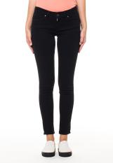 Levi's 711 Skinny Jeans - Soft Black