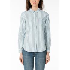 Levi's Boyfriend Workwear Shirt - Verbena Indigo