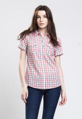Levi's Tailored Classic Western Shirt - Santa Ynez Plaid Mauveglow