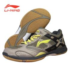 Li-Ning Badminton Shoes Super Star II - Gold-Hitam