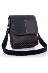 Linemart Business Crossbody Messenger Bag (Black)