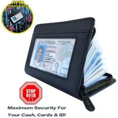 ... Pria Stainless Steel Saku Mini Kartu Kredit Kartu Identitas ... - image. Source · Lock dompet RFID Blocking PU kulit Zipper kredit Bank ID Business Card ...