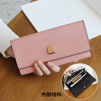 Lucu perempuan baru Jepang dan Korea Fashion Style dompet wanita wallet (Kotak logam model-