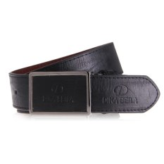 Luxury Men's Classic Buckle Automatic Waistband Leather Casual Genuine Belt Black