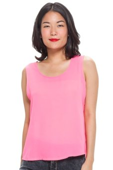 LZD Basic Sleeveless Top - Pink