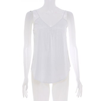 LZD Flare Camisole Top - White
