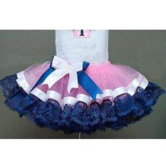 Makiyo Cute bubble skirt for children, princess style, lace, bowtie(Color: NO.1) - intl