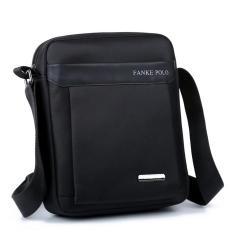 Male Bag Shoulder Bag Messenger Bag Men's Casual Canvas Oxford Cloth Bag IPad Bag Backpack Special Offer - Intl