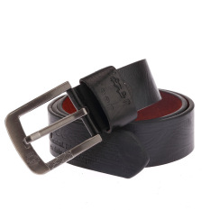 Man's Belt Leather Casual Belts MBT80101 (Black) (Intl)