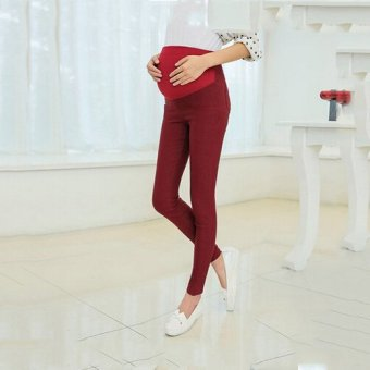 5d445ff7eade86 Many Colors Choose Warm Fitness Maternity Leggings Pregnant Clothes Pants  for Women New Spring/winter