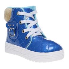 Marlee Glossy Quilted Shoes HN-101 Kids - Biru