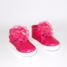 Marlee R-105 Boot Glossy Anak Perempuan - Fanta