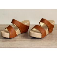 Marlee RT-11 Wedges Sandal - Tan