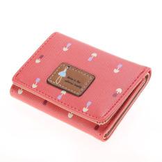 MEGA Girl Wallet Short Purse (Watermelon Red) - Intl
